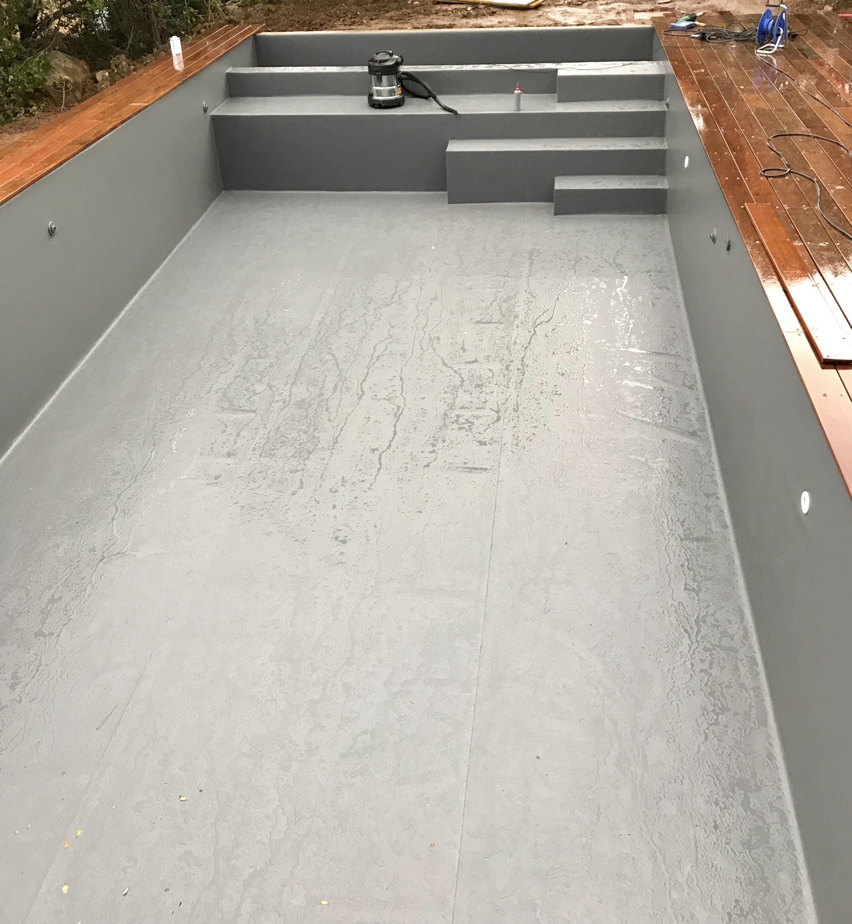 piscine tanch it pvc arm liner renforc escalier avec volet etp formation stage pose pvc. Black Bedroom Furniture Sets. Home Design Ideas